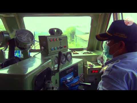 Cab Ride Argo Parahyangan CC204/GE C20EMP Part 6 (Klari - Karawang)