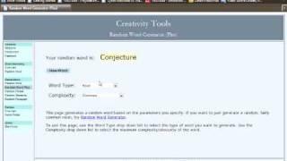 Random Word Generator Freestyle 2