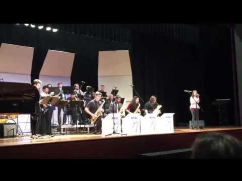 Almost Like Being In Love - SAGU Jazz Band / Ashley Seaman