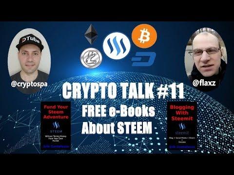 FREE e-Books about STEEM Blockchain | Watch my CRYPTO TALK #11 @flaxz