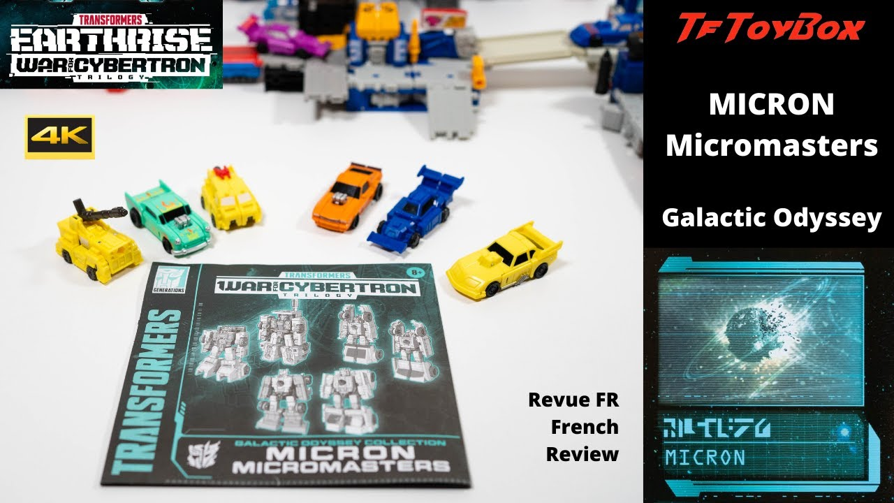 Galactic Odyssey Micron Micromasters Amazon Pack by TfToyBox