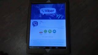 Как скачать и установить вайбер (Viber) на планшет.(, 2015-12-07T21:14:34.000Z)