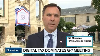 Canada's Morneau on Digital Taxation, Libra, Economy, USMCA