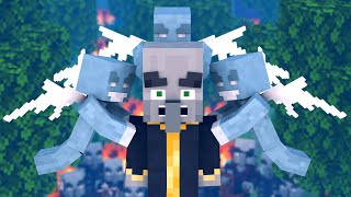 Villager Vs Pillager Life 3   Minecraft Animation
