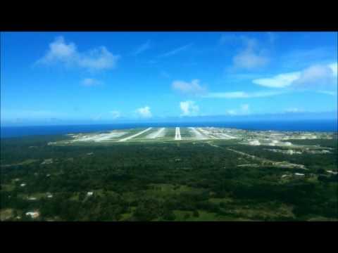 Guam Approach and Landing