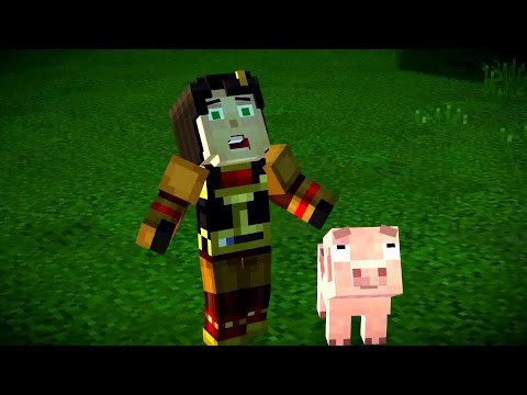 "Minecraft Story Mode - Episode 4 | ""A Block And A Hard Place"" Finale Trailer"
