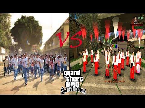 Tawuran Anak SMA Vs SD - GTA EXTREAM DYOM