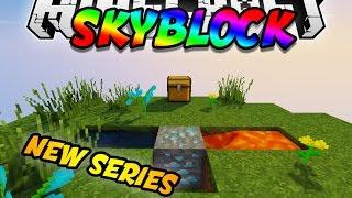 *NEW SERIES!*| Minecraft SKYBLOCK #1 w/LandonMC