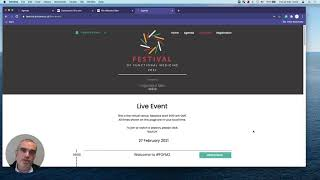 Festival of Functional Medicine 2021 - How to access the site
