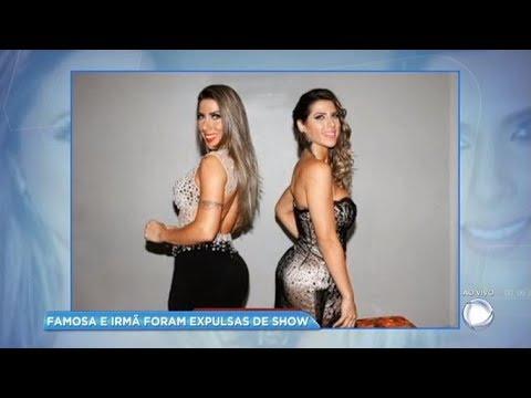 Ana Paula e Tati Minerato são expulsas de show após armarem barraco