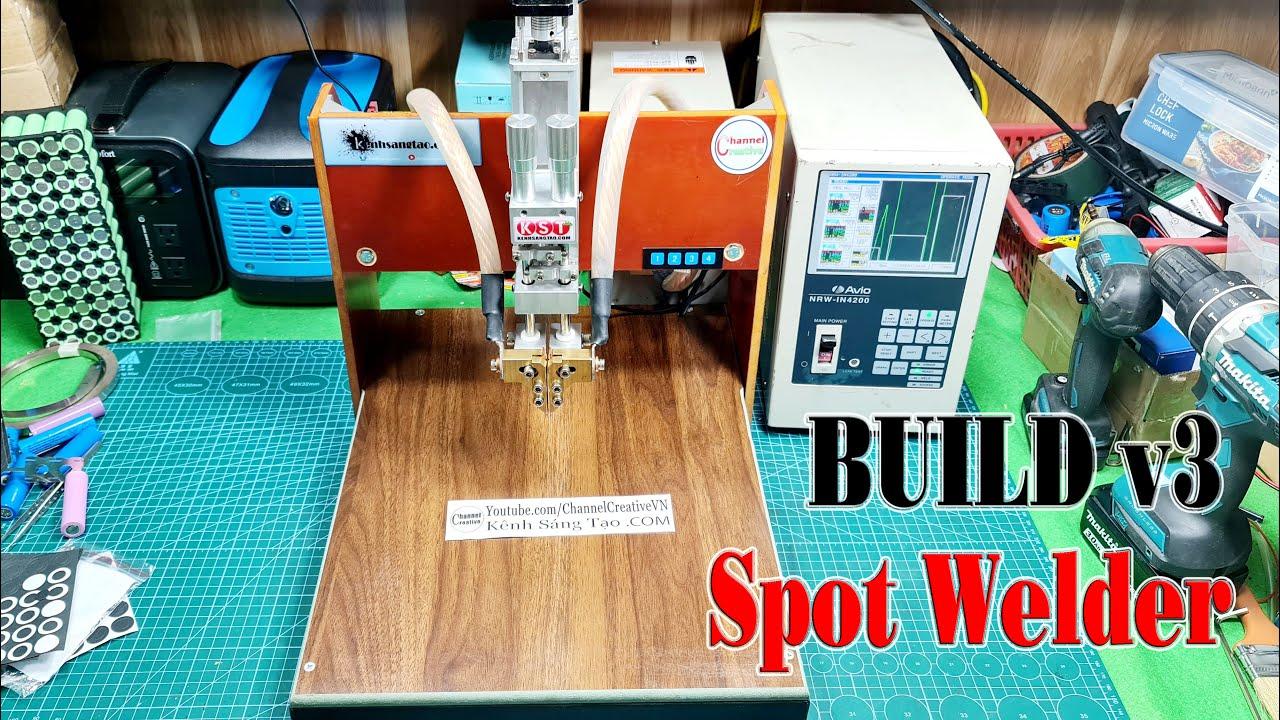 Build A v3 Spot Welder  For Batteries