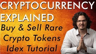Buy & Sell Tokens on Decentralized Exchange - IDEX Tutorial - Cryptocurrency Explained - Free Course