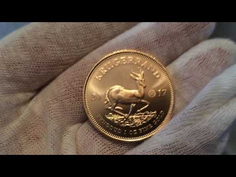 2017 South African 1oz Gold Krugerrand 50th Anniv. Privy