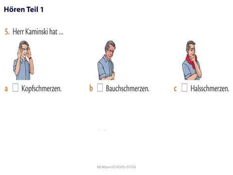Start Deutsch 1 Hören Teil 1 2 Und 3 Modelltest Goethe Zertifikat