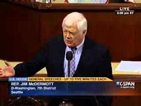 Rep. Jim McDermott on Repealing Health Care