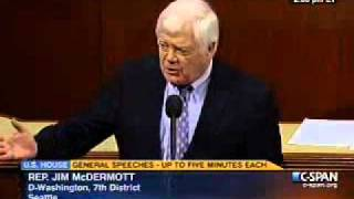 Rep. Jim McDermott on Repealing Health Care