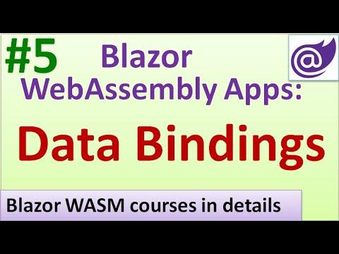 Data Bindings in Blazor WebAssembly Apps - #5