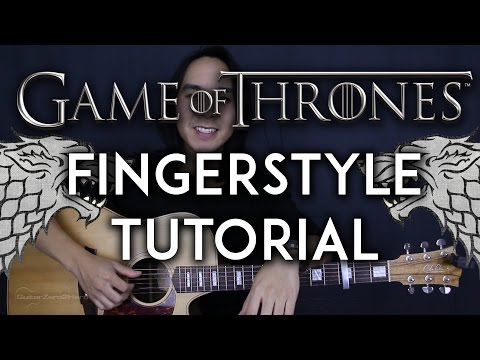 Game Of Thrones Theme Song Fingerstyle Guitar Video Tutorial Lesson + Cover |Tabs + Chords|