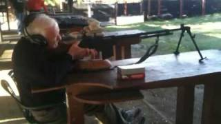 Ww2 Vet Fires A Browning Automatic Rifle Again