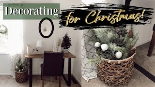 CHRISTMAS DECORATE WITH ME | GUEST BEDROOM | CHRISTMAS DECOR 2018