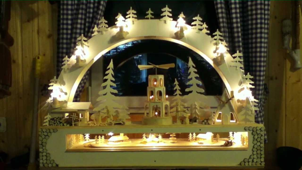 Weihnachtlich-Marry Christmas-Mechanischer Schwibbogen 2012 DIY. own ...