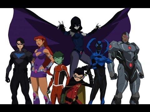 Justice League Vs Teen Titans Trailer Review!