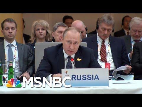 Vladamir Putin Political Rival Speaks On Putin's Political Future | Andrea Mitchell | MSNBC