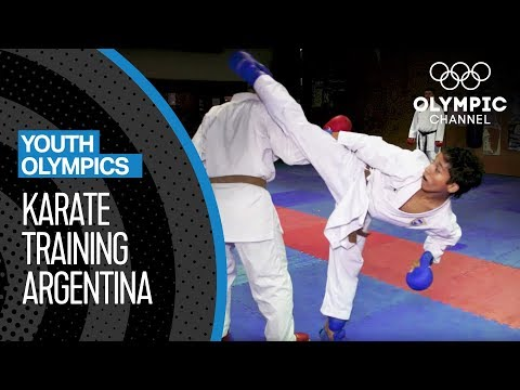 Download Youtube: Argentina's Youth trains in Karate for the YOG 2018   Youth Olympic Games