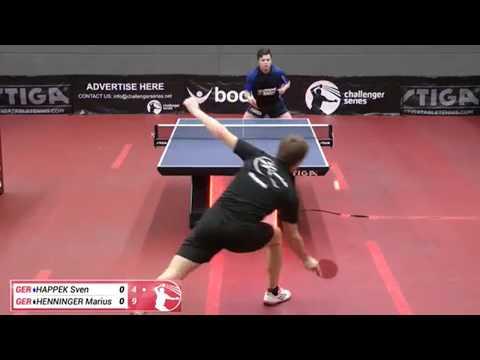 Sven Happek vs Marius Henninger (Challenger series May 9th 2018, group match)