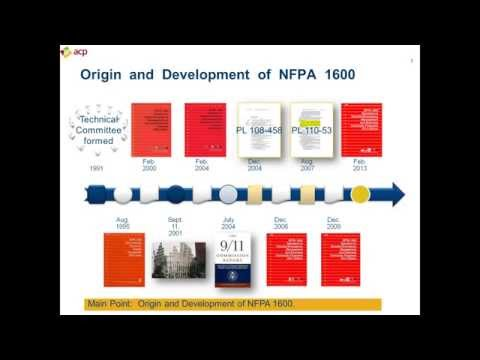 NFPA 1600 - 2016 Standard on Disaster/Emergency Management & Business Continuity Programs