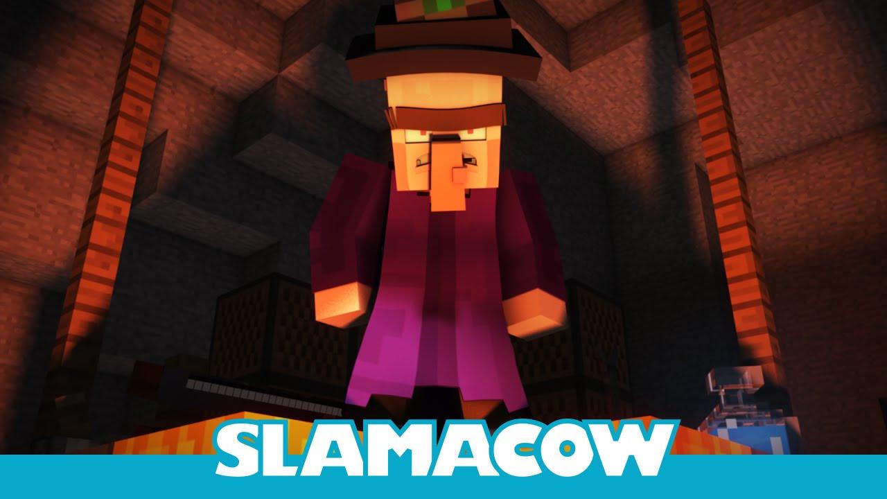 Witch Encounter - Minecraft Animation - Slamacow