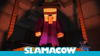 Witch Encounter - Minecraft Animation - Slamacow(This Minecraft witch is brewing up some trouble. ♫ iTunes: http://bit.ly/witchtunes ♫ Bandcamp: http://bit.ly/witchbc Rigs and Scene Assets: BootstrapBuckaroo ..., 2014-03-16T01:25:13.000Z)