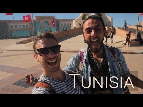 Trying Tunisian Food!