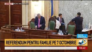 Referendum pentru familie pe 7 octombrie