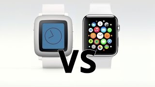 Fight : Pebble Time contre Apple Watch