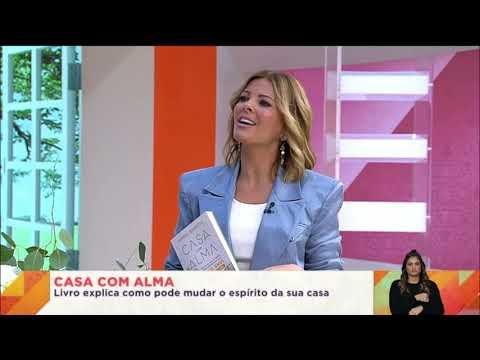 Entrevista Vanda Boavida  Praça da Alegria - livro Casa Com Alma