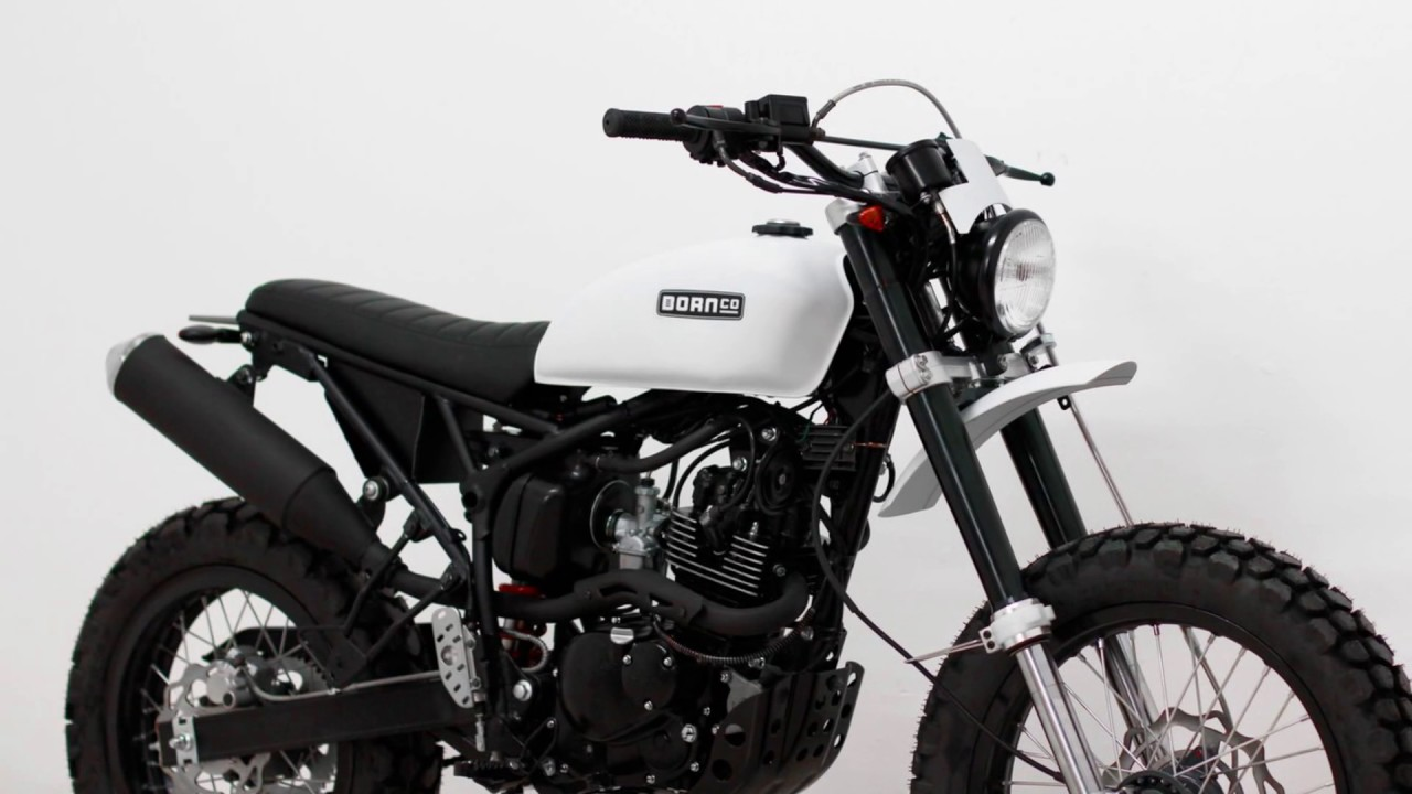 The New Tracker 125 Born Motorcycle Co Youtube