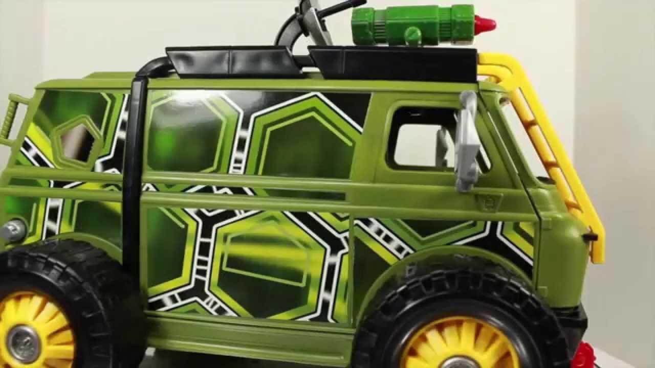 Teenage Mutant Ninja Turtles 2014 Movie Turtle Assault Van