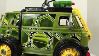 Teenage Mutant Ninja Turtles 2014 Movie Turtle Assault Van Vehicle Toy Review
