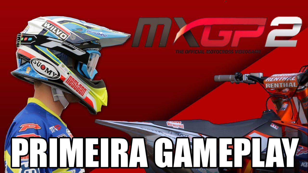 Mxgp 2 primeira gameplay vazado 2016 motocross game youtube