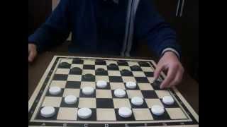 Видео-урок 7 от международного гроссмейстера Сергея Носевича. Как играть и выводить шашки.