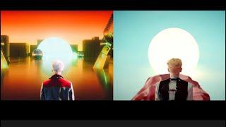 [SHINee 종현,키] 달을 보며 서 있는 김형제 | 뒷 모습이 똑같구나 | 기범이 티저보며 생각 난 종현…