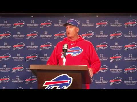 Buffalo Bills Rex Ryan Pre- Los Angeles Rams 10/5/16