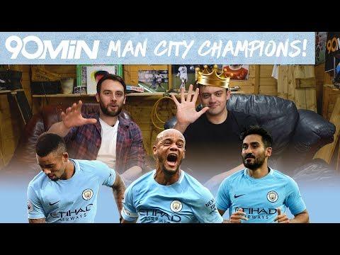 Man city champions! how man city dominated the premier league! | man city 17/18 best pl team ever!?