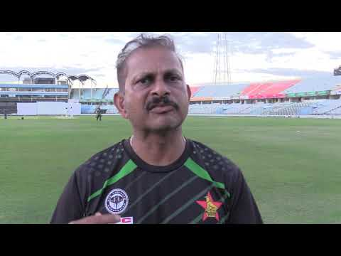 Head coach Lalchand Rajput on Zimbabwe's readiness for Bangladesh Test series
