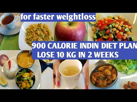 HOW TO LOSE WEIGHT FAST/Indian diet plan for weight-loss/#pcoddietplan/#900calorieindiandietplan