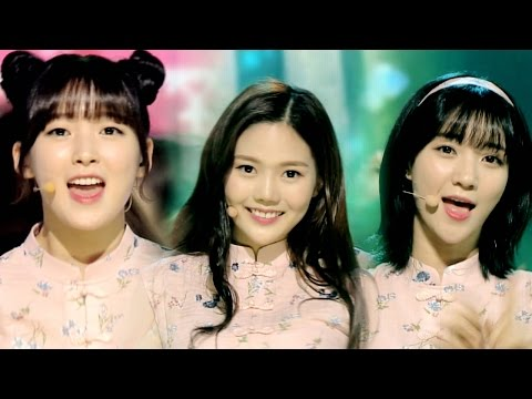 《CUTE》 OH MY GIRL(오마이걸) - WINDY DAY @인기가요 Inkigayo 20160605