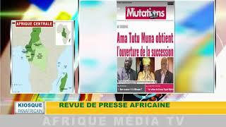 KIOSQUE PANAFRICAINE DU 08 06 2018