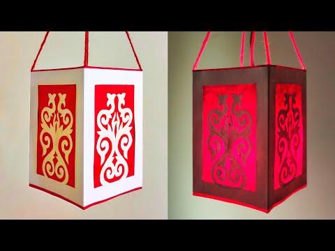 Diwali Paper Lantren Making | diy | Paper Lantern Making At Home | Handmade | By Punekar Sneha