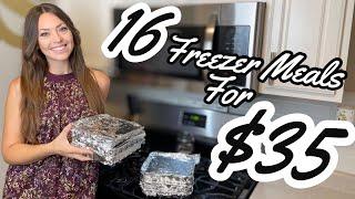 EASY FREEZER MEAL IDEAS | Budget & Family Friendly Freezer Meals